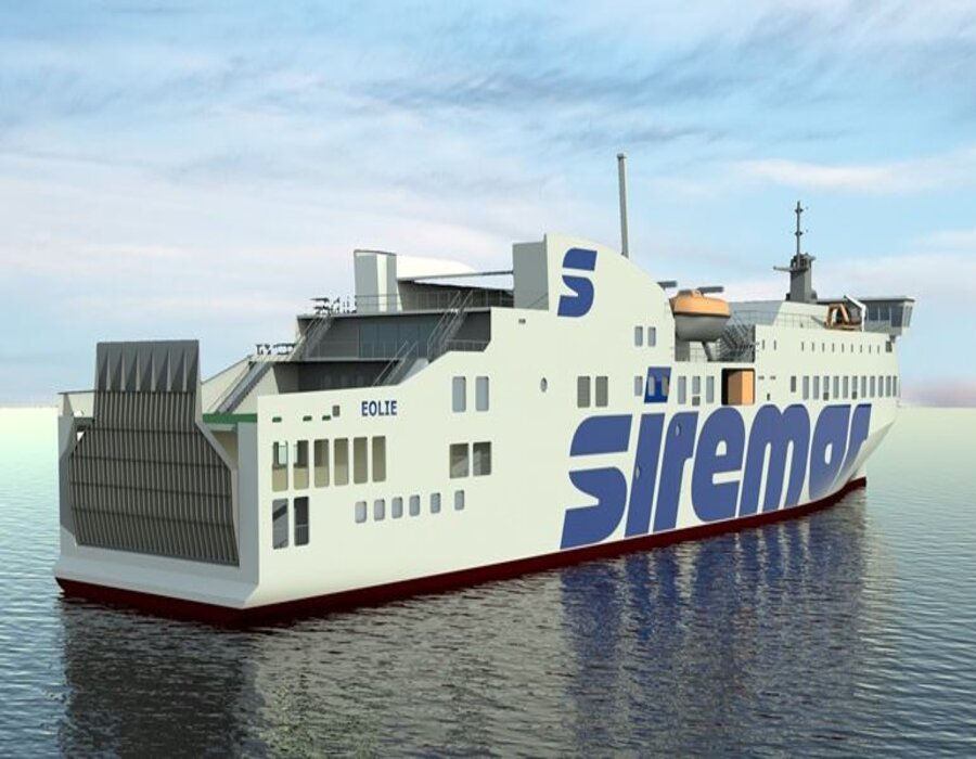 Caronte & Tourist Isole Minori orders LNG-fuelled ferry newbuilding at Turkish shipyard