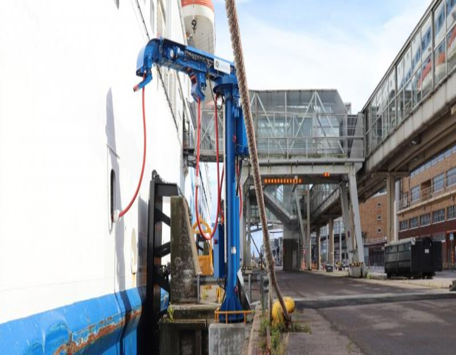 Finland: Port of Helsinki introduces shore-side power electricity in the South Harbour area