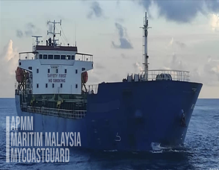 Malaysia: MMEA arrests Indonesian oil tanker over alleged entry permission offense