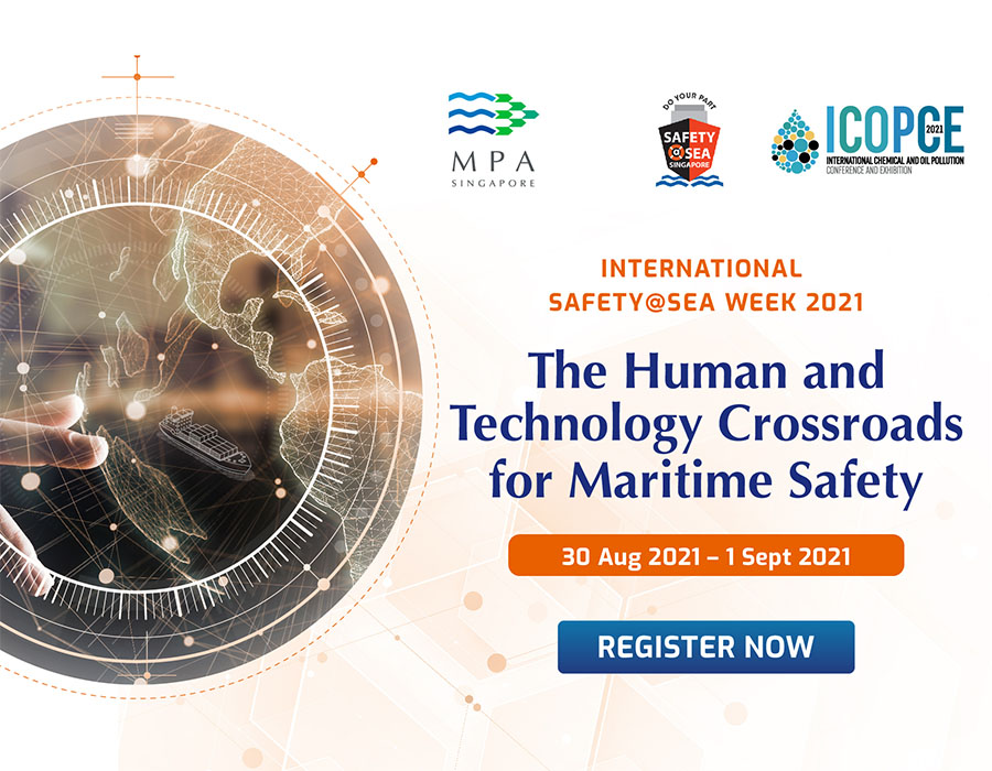 Maritime and Port Authority of Singapore organises 8th run of the International Safety@Sea Week