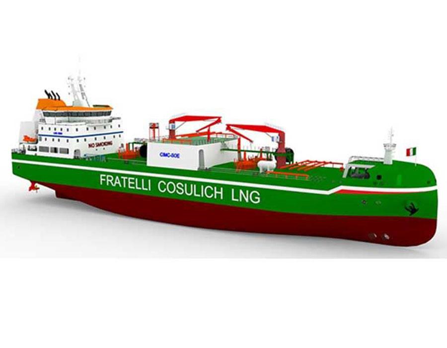 Fratelli Cosulich first LNG bunkering vessel to use Wärtsilä cargo handling system