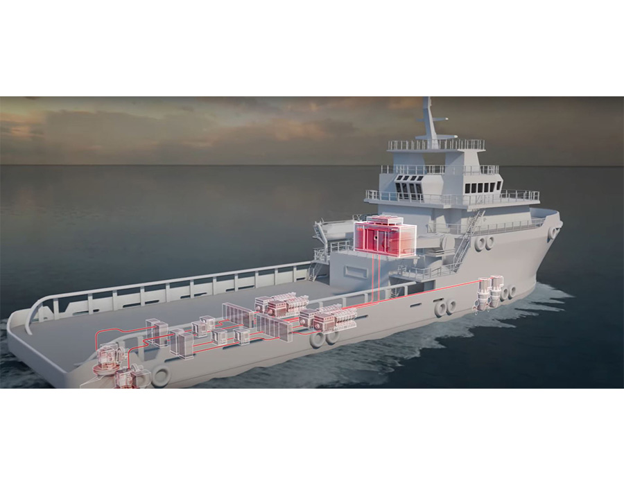 ABB offers Containerized ESS plug-in battery power solution for wide range of vessels