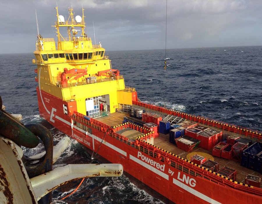 Eidesvik offshore ASA and Aker BP join forces to develop low-emission vessels
