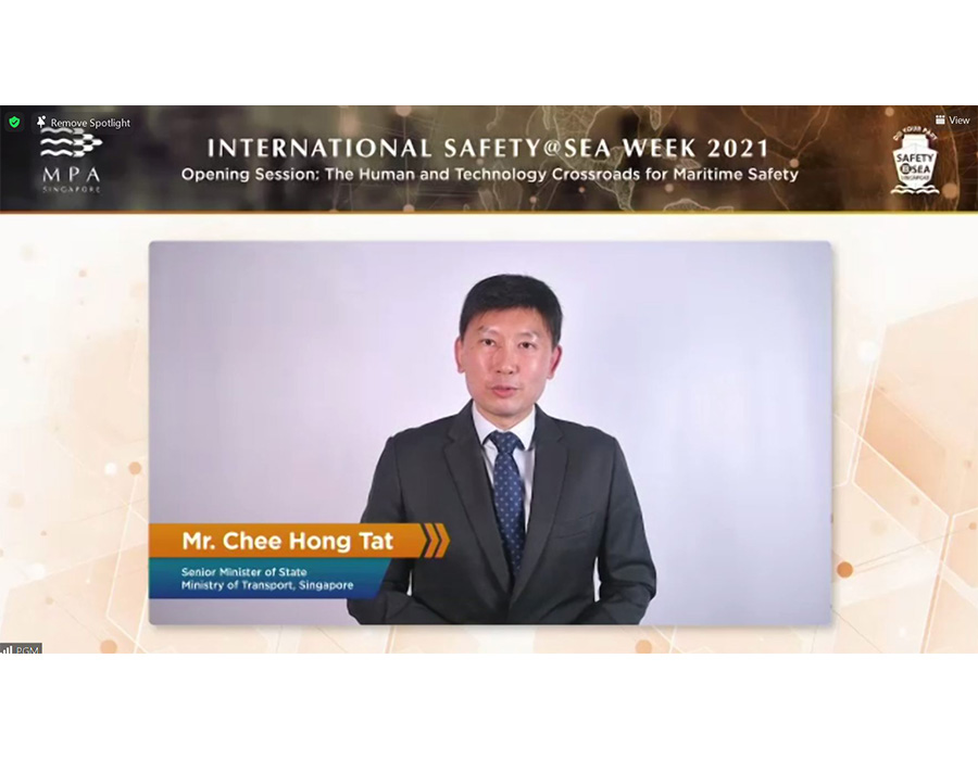 International Safety@Sea Week: Singapore focuses on fire safety for LNG bunkering operations