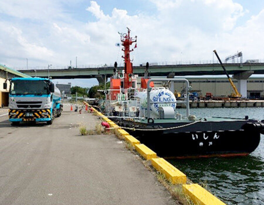 Japan: Mitsui O.S.K. Lines LNG-fuelled tugboat Ishin uses Carbon Neutral LNG