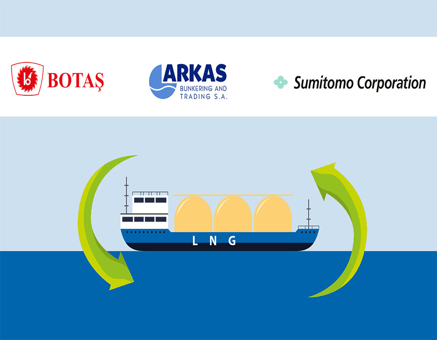 BOTAS, Arkas Bunkering and Sumitomo to support Turkey's LNG bunkering hub ambition